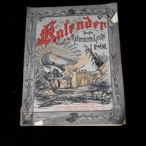 Antique 1891 german magazine!